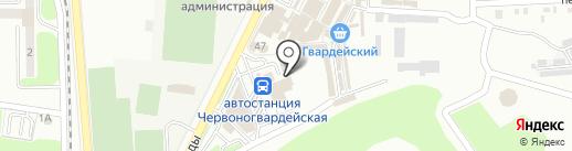 Горских Р.Б., ЧП на карте Макеевки