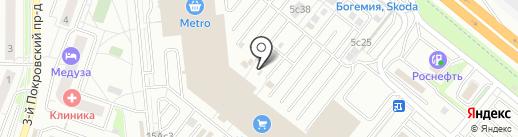Экоморье на карте Котельников