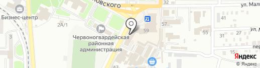 Мегаклимат на карте Макеевки