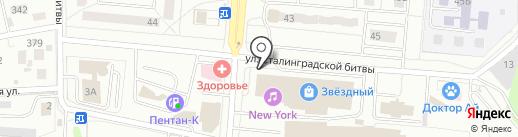 Компас на карте Королёва