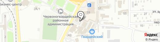 Обувь, магазин женской обуви на карте Макеевки