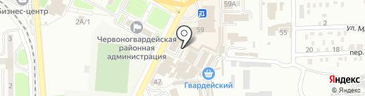 Магазин детской и подростковой одежды на карте Макеевки