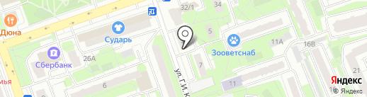 Общественная приёмная депутата Московской областной Думы Брынцалова И.Ю. на карте Реутова
