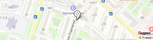 Национальный платежный сервис на карте Люберец