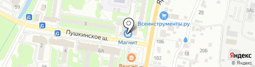 Продэкс на карте Пушкино