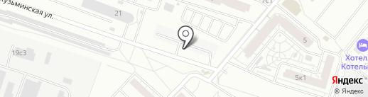 Трисада на карте Котельников