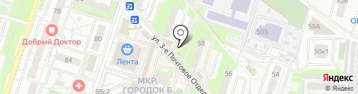 Кондитерский магазин на карте Люберец