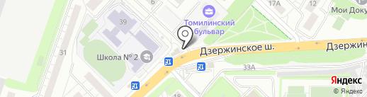 Магазин продуктов на карте Котельников
