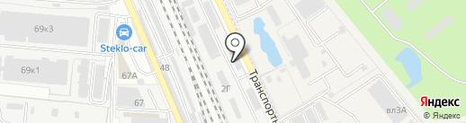 Теллур-Мет на карте Реутова