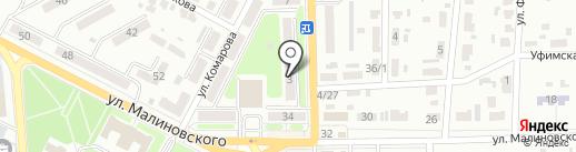 Центральный на карте Макеевки