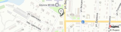 Тихий омут на карте Макеевки