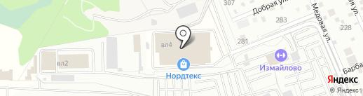 Нордтекс на карте Балашихи