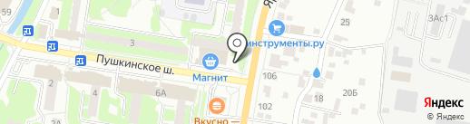 Самса из Тандыра на карте Пушкино