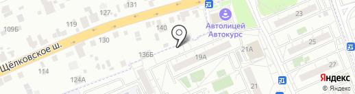 Магазин канцелярских товаров на карте Восточного