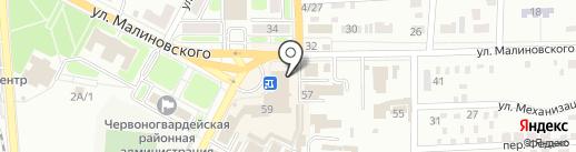 Киоск по ремонту обуви и заточке инструментов на карте Макеевки