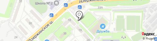 Кан на карте Котельников
