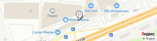ВелоРим на карте Балашихи