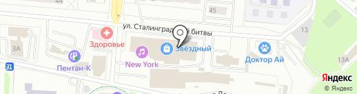 Цвет Диванов на карте Королёва