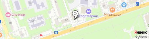 StrategShop на карте Реутова