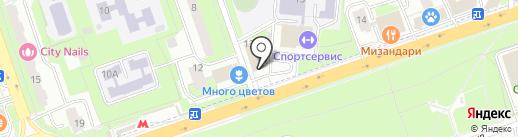 sexshopvip.ru на карте Реутова