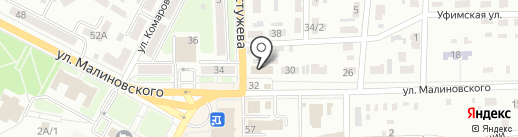 AVON на карте Макеевки