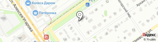 AUTO31RUS на карте Старого Оскола