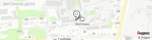 Строительная компания на карте Старого Оскола