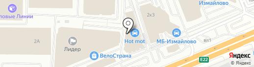 Строй Плаза на карте Балашихи