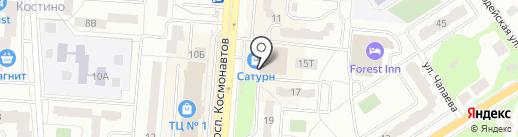 Калужская акватория на карте Королёва