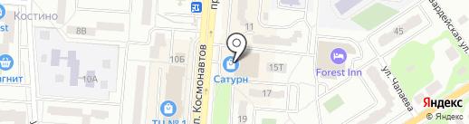 Магазин головных уборов и кожгалантереи на карте Королёва