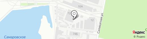 Скопинский на карте Королёва