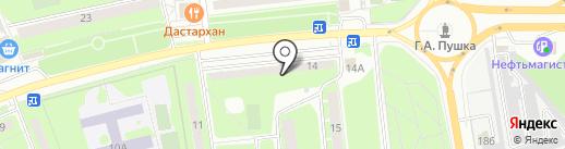 Дзержинец на карте Пушкино