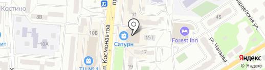 Магазин дисков на карте Королёва