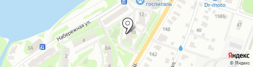Мед-стом на карте Пушкино