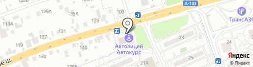 Мобил Элемент на карте Восточного