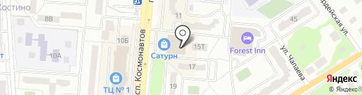 Георгий на карте Королёва