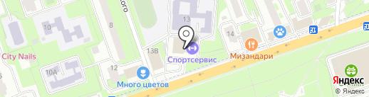 Studio на карте Реутова
