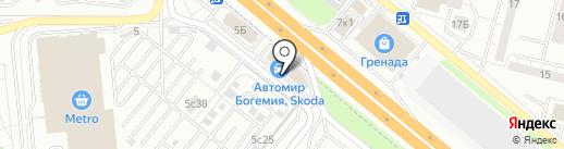 Автомир на карте Котельников