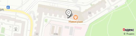 Капитошка на карте Дзержинского