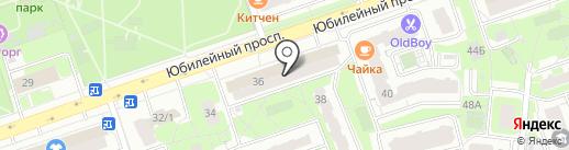 Maximum на карте Реутова