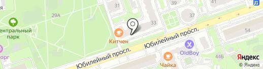 Сбербанк, ПАО на карте Реутова