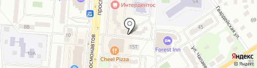 Мо Зайка на карте Королёва
