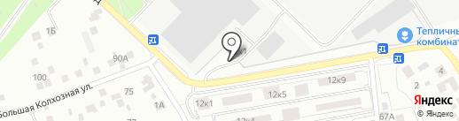 Мосгласс на карте Котельников