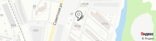 ПРОФИ-ИНВЕСТ на карте Королёва
