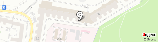 Весельчак на карте Дзержинского