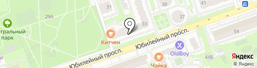 МИЭЛЬ на карте Реутова