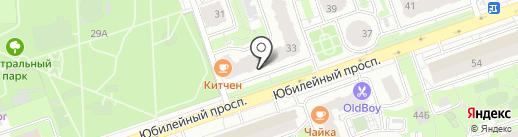 Магазин оптики на карте Реутова