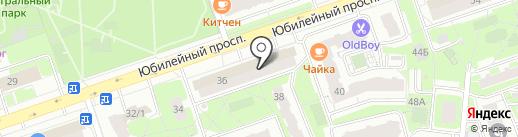 Инженерные технологии на карте Реутова