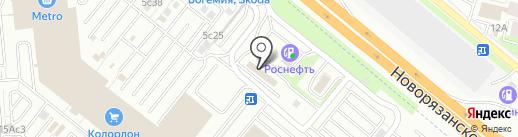 Марафон на карте Котельников