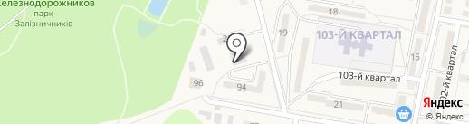 Магазин бытовой химии и косметики, СПД Незенко А.А. на карте Ясиноватой